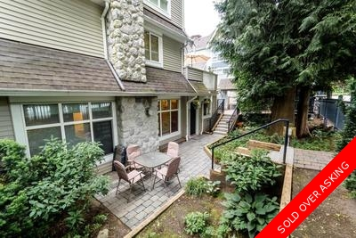 Lynn Valley Townhouse for sale: River Rock 1 bedroom 690 sq.ft. (Listed 2017-06-09)